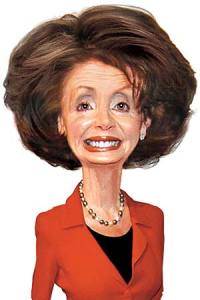 People - Pelosi, Nancy - Cartoon - 002