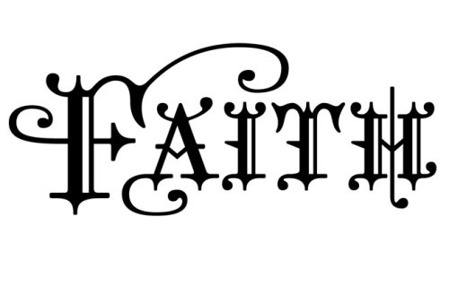 Christianity - Faith - Word