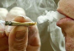 Drugs - Joint Smoke