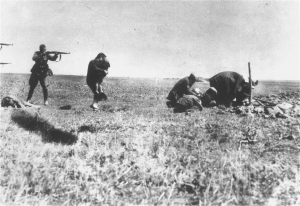 History - Nazi - Kiev Jew Killings in Ivangorod (1942)