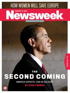 Obama - Newsweek - Second Coming