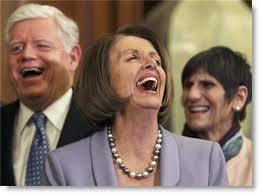 People - Pelosi, Nancy - Laughing Meniacally