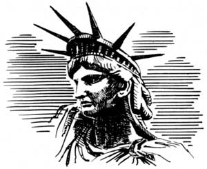 Statue of Liberty - Sketch2