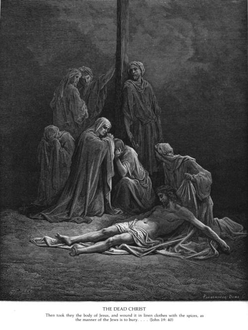 Christian - Jesus - Dead at Foot of Cross
