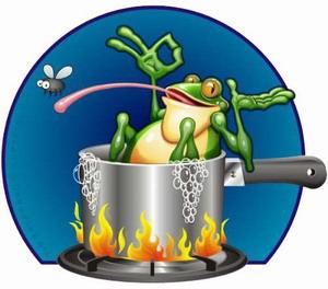 Concept - Boil Frog Slowly