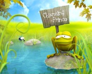 Frog - Charming Prince Sign