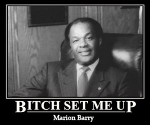 People - Barry, Marion - Mayor of Washington DC