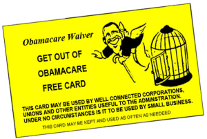 Political - Conservative - Obamacare - Get Out Free