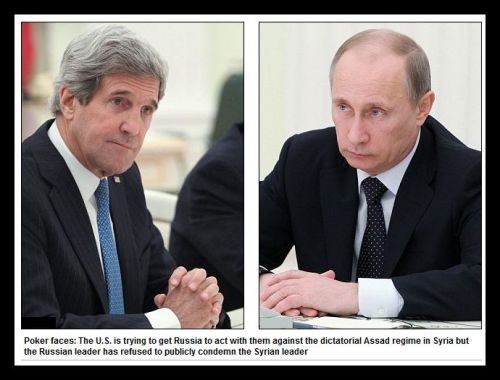 2013 05 00 - Kerry Faces Putin, Poker Faces