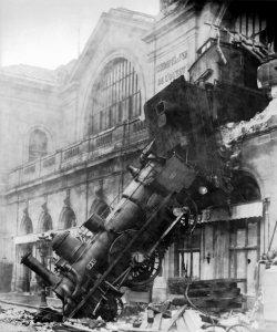 Concept - Train Wreck - Montparnasse - 1895