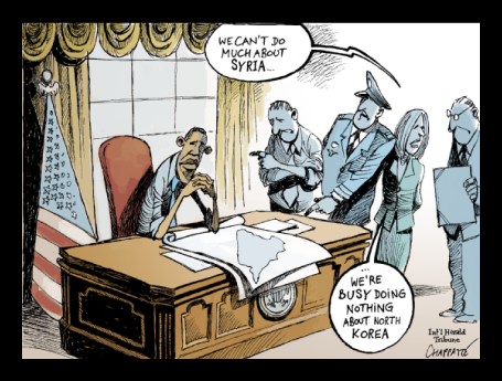 Political Cartoon - 2013 04 00 - Obama Impotent