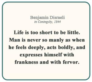 Quote - Frankness - Disraeli, Benjamin