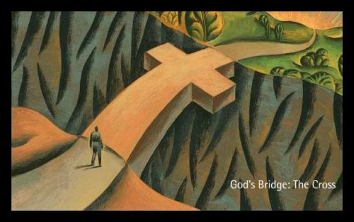 Religion - Christian - Salvation - Cross as Bridge