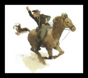 History - 1775 - Paul Revere Ride - British are Coming (color) - 004
