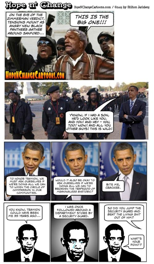 2013 07 00 - Home N Change - Obama on Zimmerman