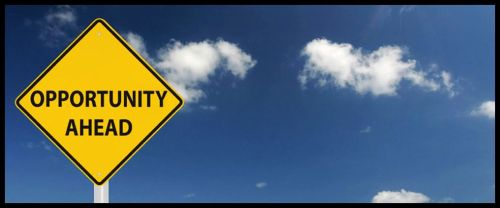 Concept - Opprotunity Ahead, Road Sign