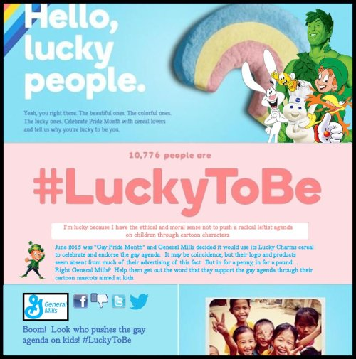 General Mills Uses Lucky the Leprechaun to Push Gay Agenda on Kids