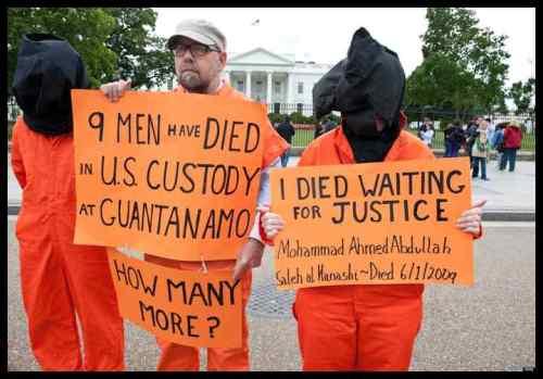 2013 - Guantanamo Protestors