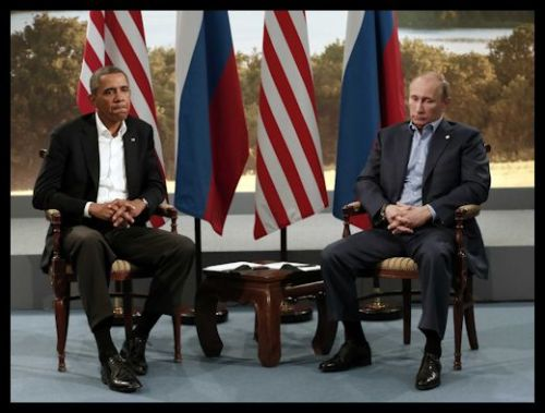 2013 - Obama Putin Meeting - Frosty