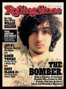 2013 - Rolling Stone - Terrorist Cover