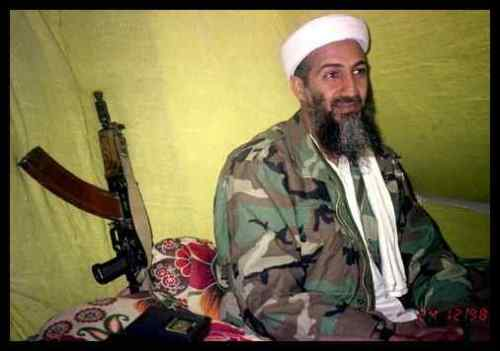 People - Osama bin Laden - Tent in Camo