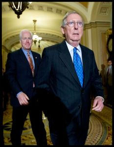 People - Cornyn, McConnel