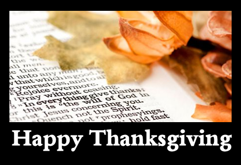 2013 - Thanksgiving Message