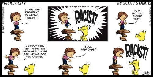 Comic - Prickly City - 2012 09 09 - Racist