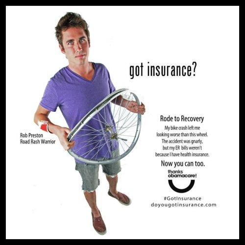Got Insurance - Bike Dude