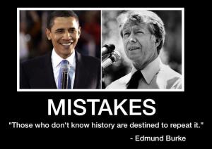 Obama Carter - History
