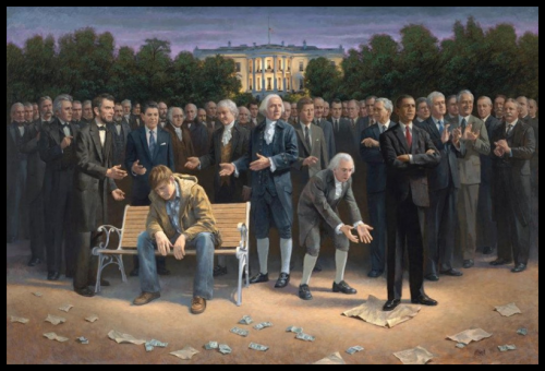Obama - Standing on Constitution