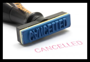 Stamp - Cancelled