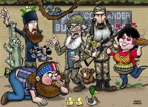 TV - Duck Dynasty - cartoon