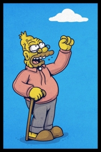 TV - Simpsons - Old Man Yells at Cloud
