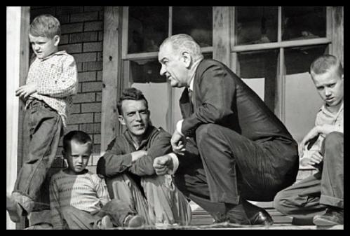 History - 1960s - Lyndon B Johnson - War on Poverty