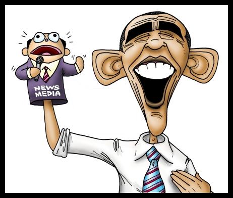 Templage - MSM Parrot Obama, Dummy (no Quote)