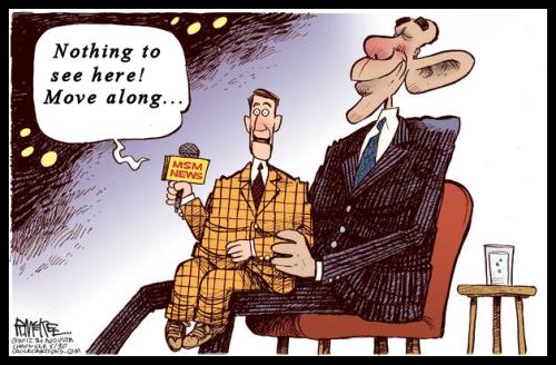People - Obama, Barack - Manipulating MSM