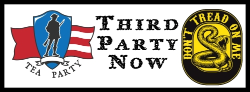 Time to Cut Our Losses and Abandon the GOP.  It's time for a third part... the Tea Party