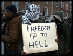 Religion - Islam - Freedom Go to Hell