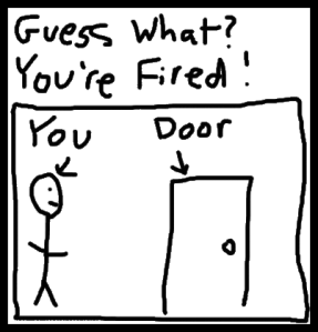 Job - You Fired, Door