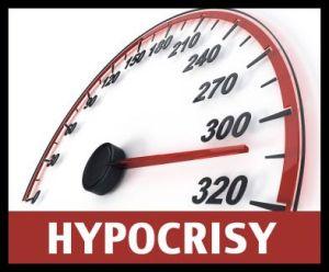 Concept - Hypocrisy
