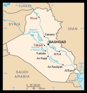 Map - Iraq - 2014