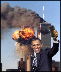 People - Barack Obama - Selfie 911