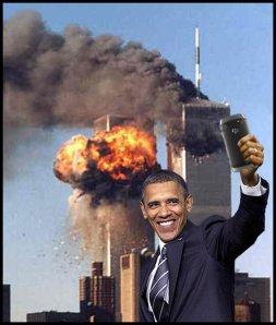 People - Barack Obama - Selfie 911