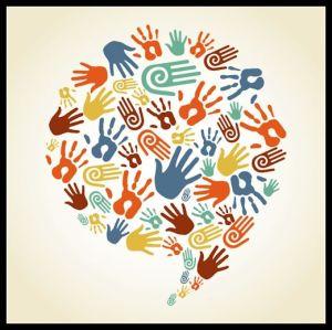 Concept - Diversity - Hands