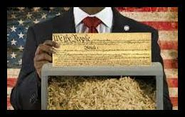 Obama Shred Constitution