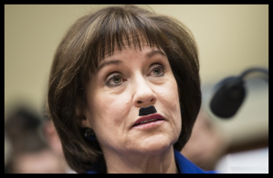 People - Lerner, Lois - IRS Brown Shirt - Fascist Mustache