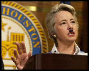 People - Parker, Anise - Mayor Houston - Fascist Mustache