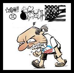 Left - Liberal - Rabid - Hate America