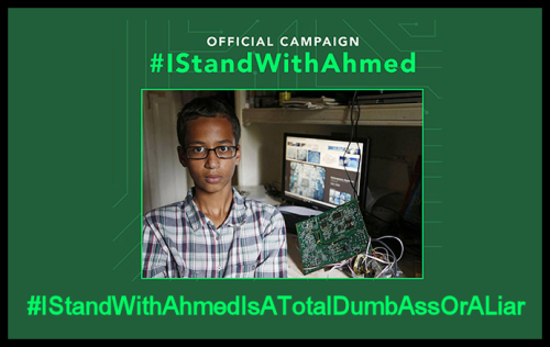 Ahmed - Dumbass or Liar